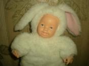 кукла зайчик от Anne Geddes
