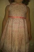 Продам платье M&S размер 83 см на 1г-1, 6г и колготки в подарок