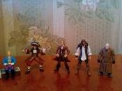 фигурки пиратов Zizle