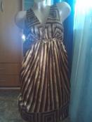 Красивое платье с кожаным пояском