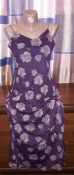 Нежное платье с принтом роз