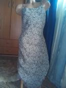 Классное платье-миди с клиньями