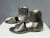 Босоножки Juicy Couture, оригинал, к/ зам, цвет- стальной.