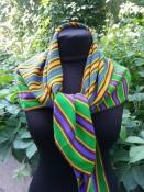 Винтажный шелковый платок Yves Saint Laurent, оригинал.