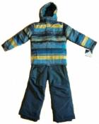 Зимний детский комбинезон Iceburg раздельный на 7-8 лет
