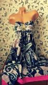 Невесомое шёлковое платье-бюстье от Оаsis