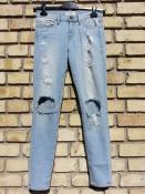Женские джинсы Frame, цвет- голубой.