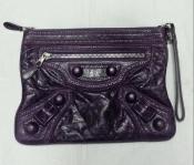 Клатч / сумочка Balenciaga ( Баленсиага ), оригинал, лимитка, цвет- сиреневый.