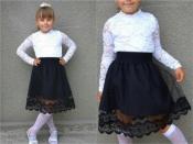 Детская юбка для школы №2