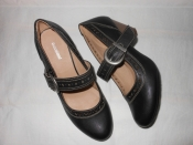 Туфли с ажурным принтом