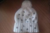 Новая деми/зима шапка Олта для девочки размер 54-56
