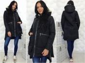 """Женская куртка """"Аляска"""" однотонная"""