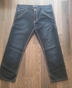Темно-синие джинсы LS DENIM -  34 размер, длина - 102 см