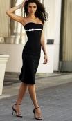 Фирменное нарядное платье без бретелей jane norman