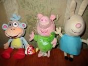 мягкие игрушки Свинка Пеппа