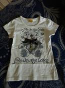 нереальной красоты футболка с медведем little berkle