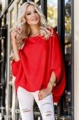Стильная красная блуза zara