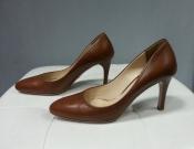 Туфли Prada, оригинал, цвет- коричневый.