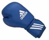 Боксерские перчатки AIBA синие ADIDAS 10ун