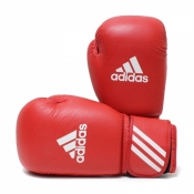 Боксерские перчатки AIBA красные ADIDAS 12 ун