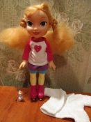 кукла принцесса Анна от Диснея