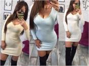 Шикарное платье с люрексом