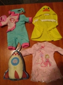 одежда для пупсов, кукол