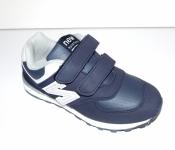 Кроссовки детские темно синие с серым New Balance ( 32-35 )