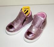 Демисезонные гламур ботинки для девочек Clibее Румыния ( 26 - 31 )