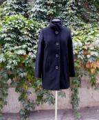 Пальто Barbara Bui, оригинал, шерсть / кашемир, цвет- черный.