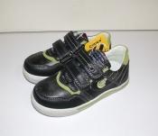 Туфли мокасины для мальчика черные Clibee Румыния 27-32