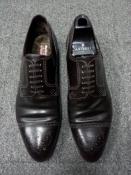 Мужские туфли Artioli, Италия, hand made, внутри полностью на меху.