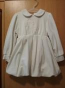 Продам велюровое платье на рост 86 - 92 см