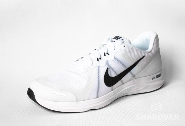 Мужские беговые кроссовки Nike Dual Fusion X2 белые 819316-100 bf4198e6478