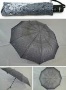 Зонт полуавтомат серый антиветер