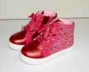 Ботинки демисезонные для девочек утепленные Red 27-32