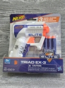 Бластер Nerf N-Strike Elite Triad EX-3 пистолет Нерф