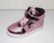 Ботинки демисезонные для девочек розовые Мальвина 26-31