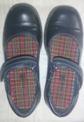 Черные туфельки Smart fit США на девочку - 19,5 см стелечка