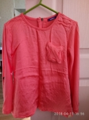очень красивая брендовая блузка mexx размер детский M, примерно на 6 лет