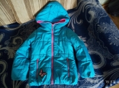 очень красивая яркая теплая курточка perfomance gear на 6 лет