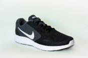 275мм Nike Revolution 3 мужские кроссовки беговые черно-серые