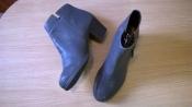 удобные кожаные ботильоны 41 р. 26,5 см., Zign, стиль винтаж,  немецкое качество