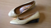 Кожаные туфли 40р. 25,7 см. Other Stories цвет горчицы
