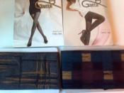 Модные колготки Gatta 2-S, 3-М, 40 den в стиле арт-деко, европейское качество