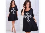 Платье Крест