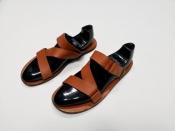 Мужские шлепанцы, сандали  Louis Vuitton, оригинал, кожаные.