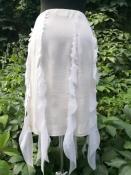 Юбка Thierry Mugler, Франция, оригинал, шелковая, цвет- белый.