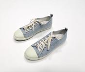 Кеды / кроссовки Chanel ( Шанель ), оригинал, цвет - голубой.