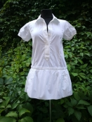 Рубашка / блуза / туника Louis Vuitton, оригинал, хлопок, цвет - белый.